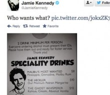 Laugh Factory Menu: Jamie Kennedy Special