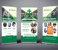 Faith Unleashed Consulting Tradeshow Banners